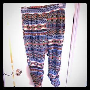 Tribal print Jogger Fit Pants